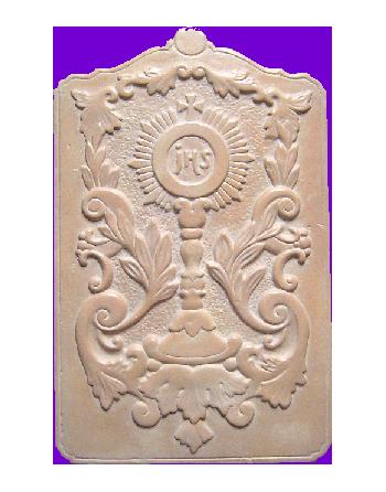Bas-relief ostensoir