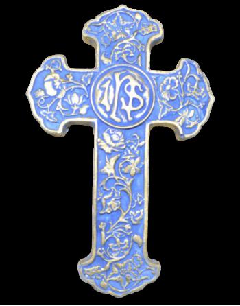 Croix de Damas bleue