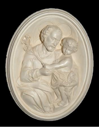 Bas-relief st Joseph