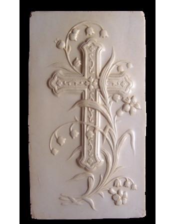 Bas-relief crucifix