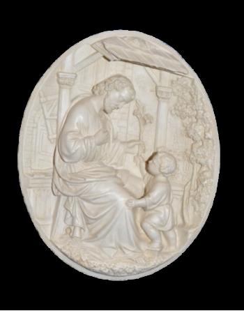 Bas-relief st Joseph et...