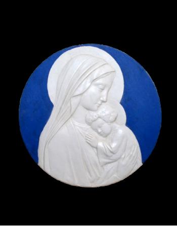 Médaillon Vierge orante