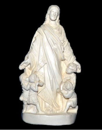 Grand Jésus de prague polychrome