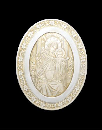 Vierge de Polignac ovale
