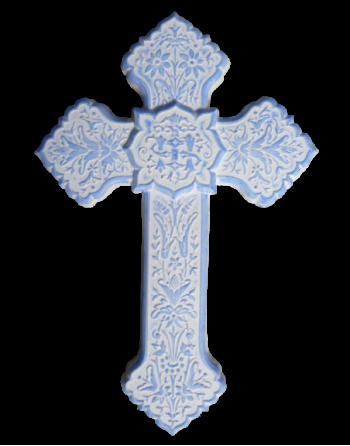 Croix fleurie